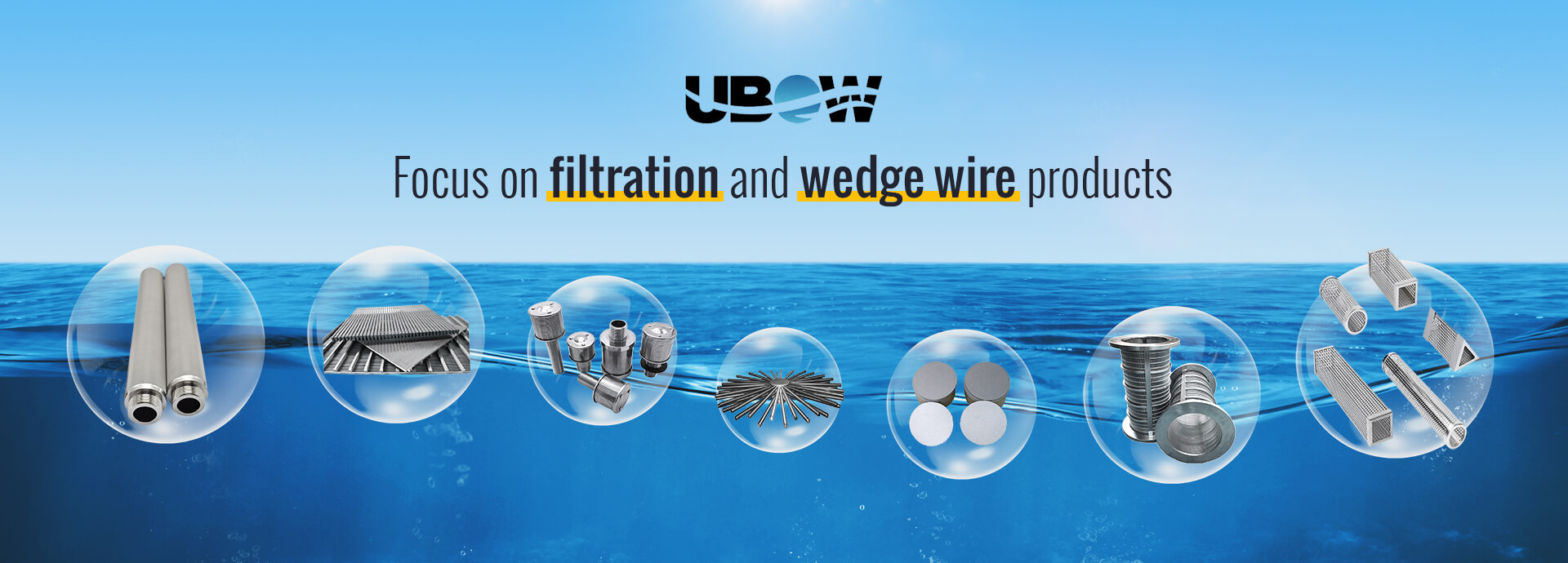Focus on filtration and wedge wire products